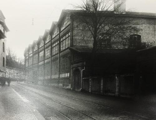 Ansicht der Mühlenstrassse 26 um 1910